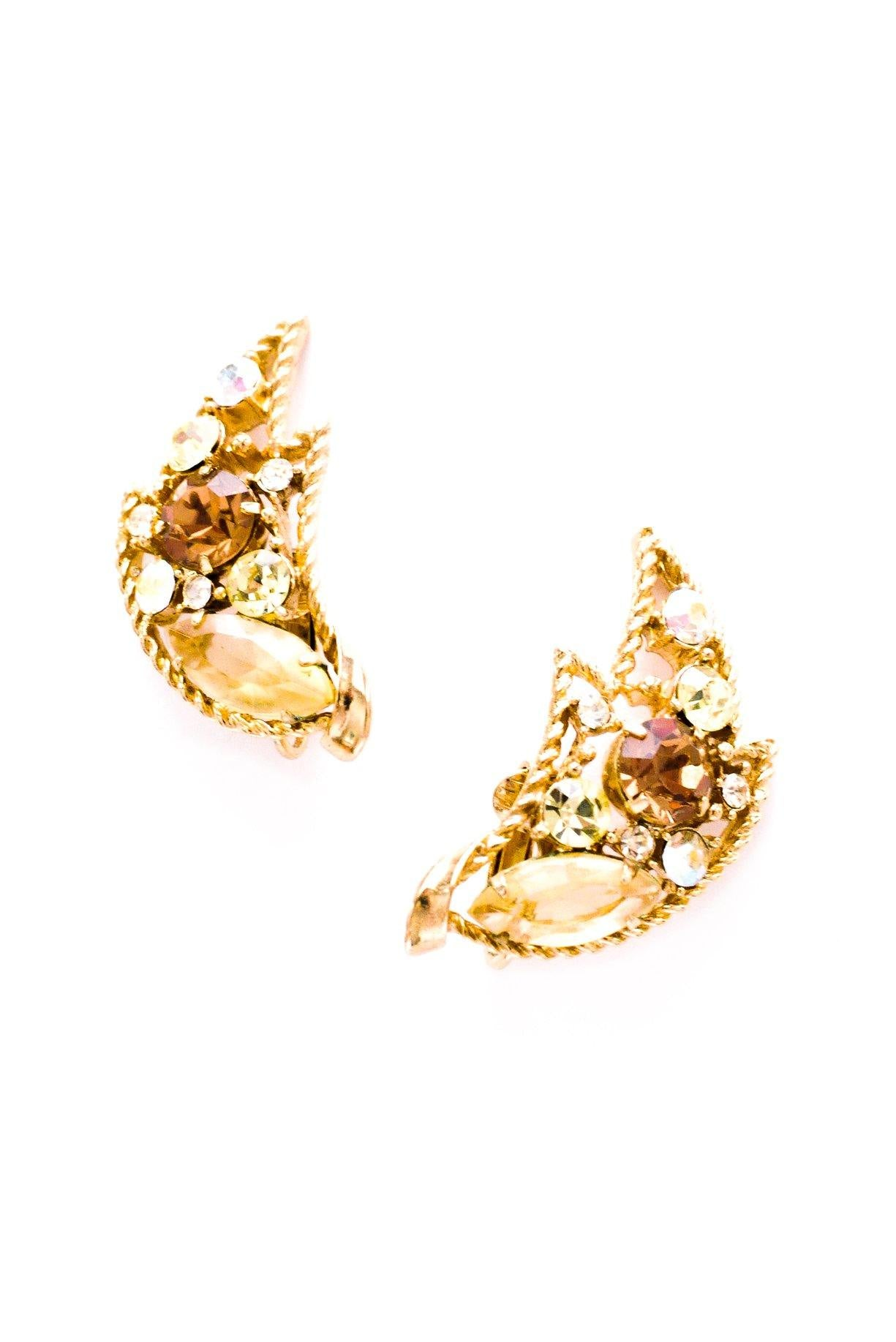 Vintage Emmons Statement Crawler Earrings from Sweet & Spark.