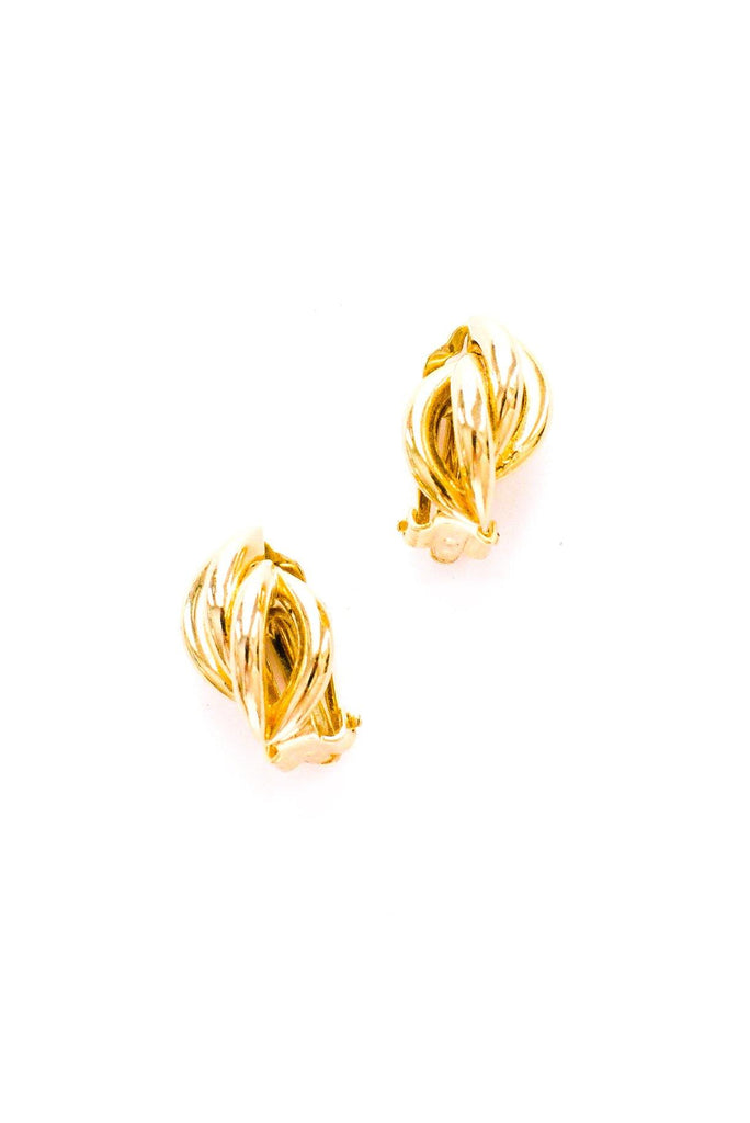 Twisted Clip-on Earrings