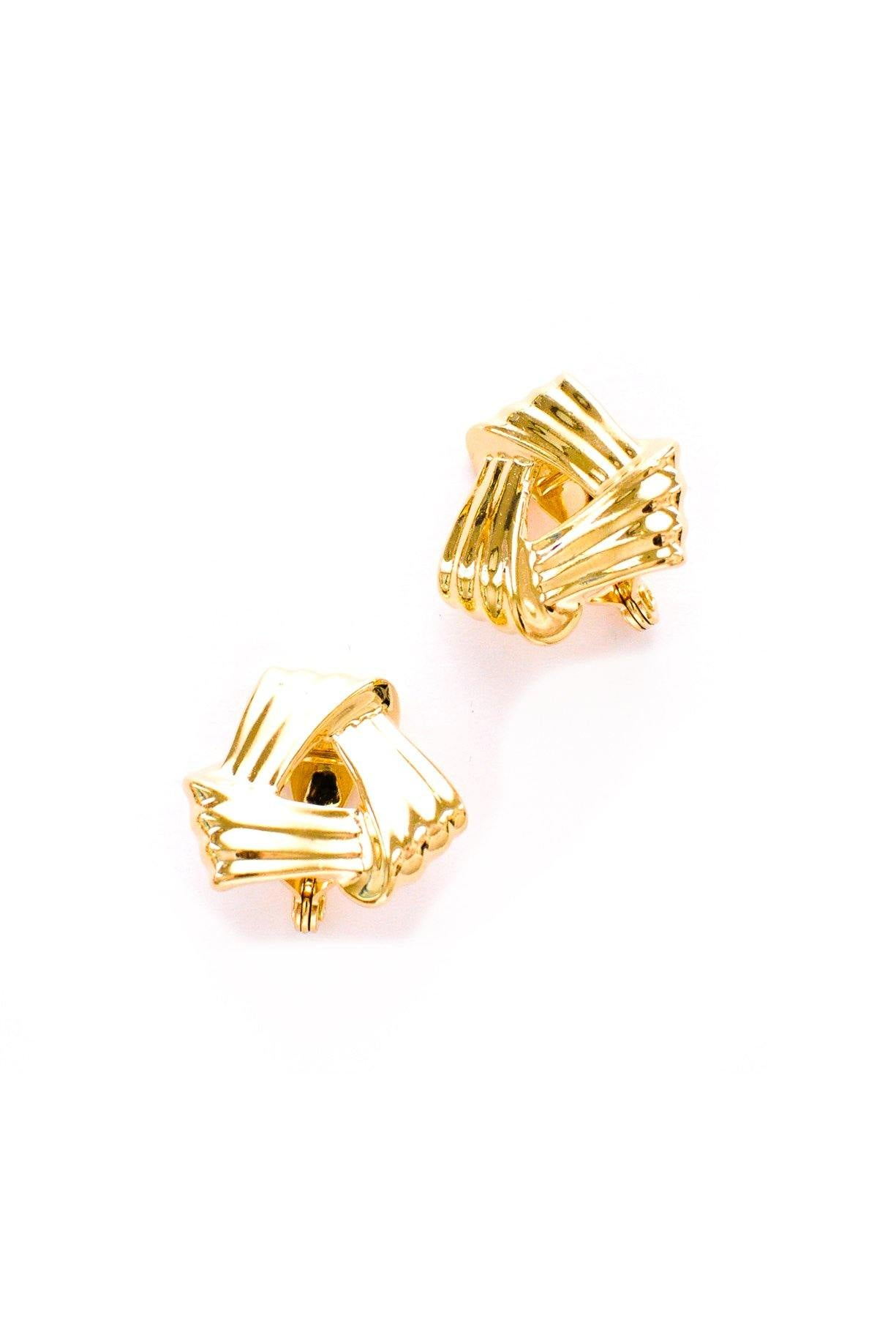 Knot Clip-on Earrings