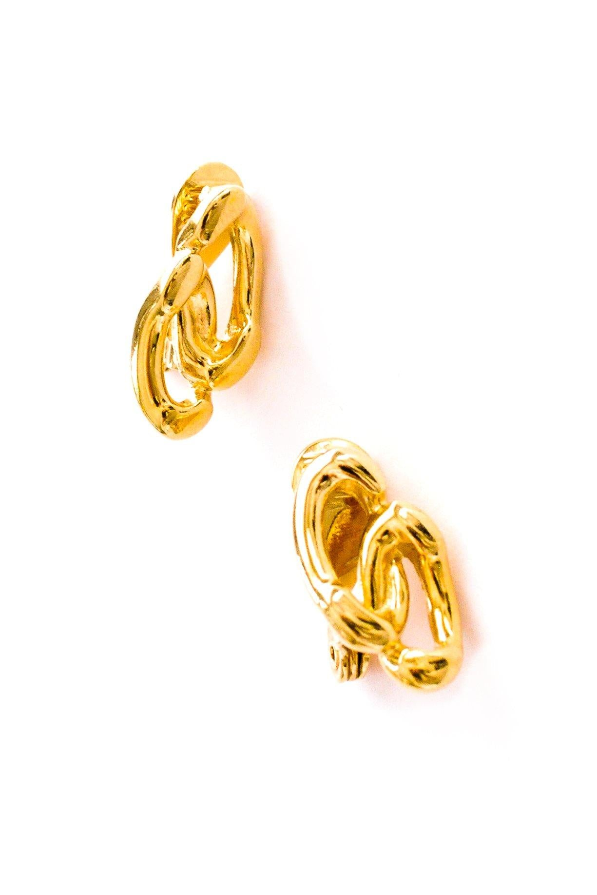 Double Link Clip-on Earrings