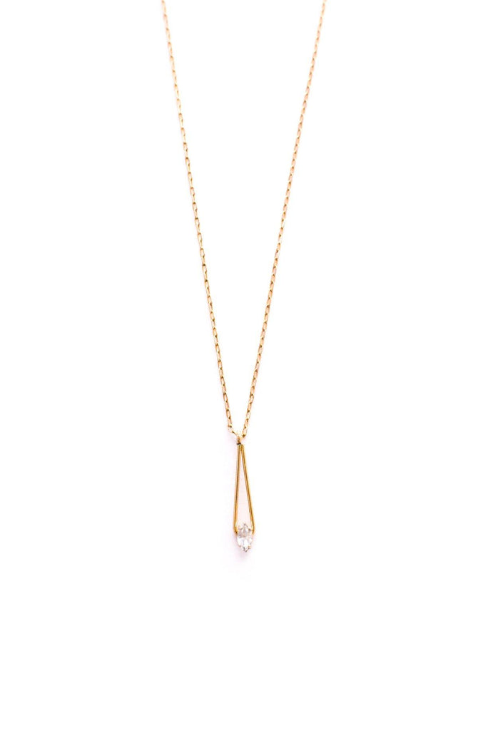 Dainty Teardrop Necklace