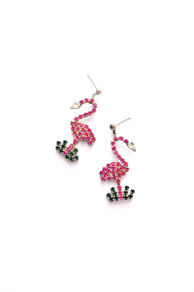 Flamingo Pierced Earrings