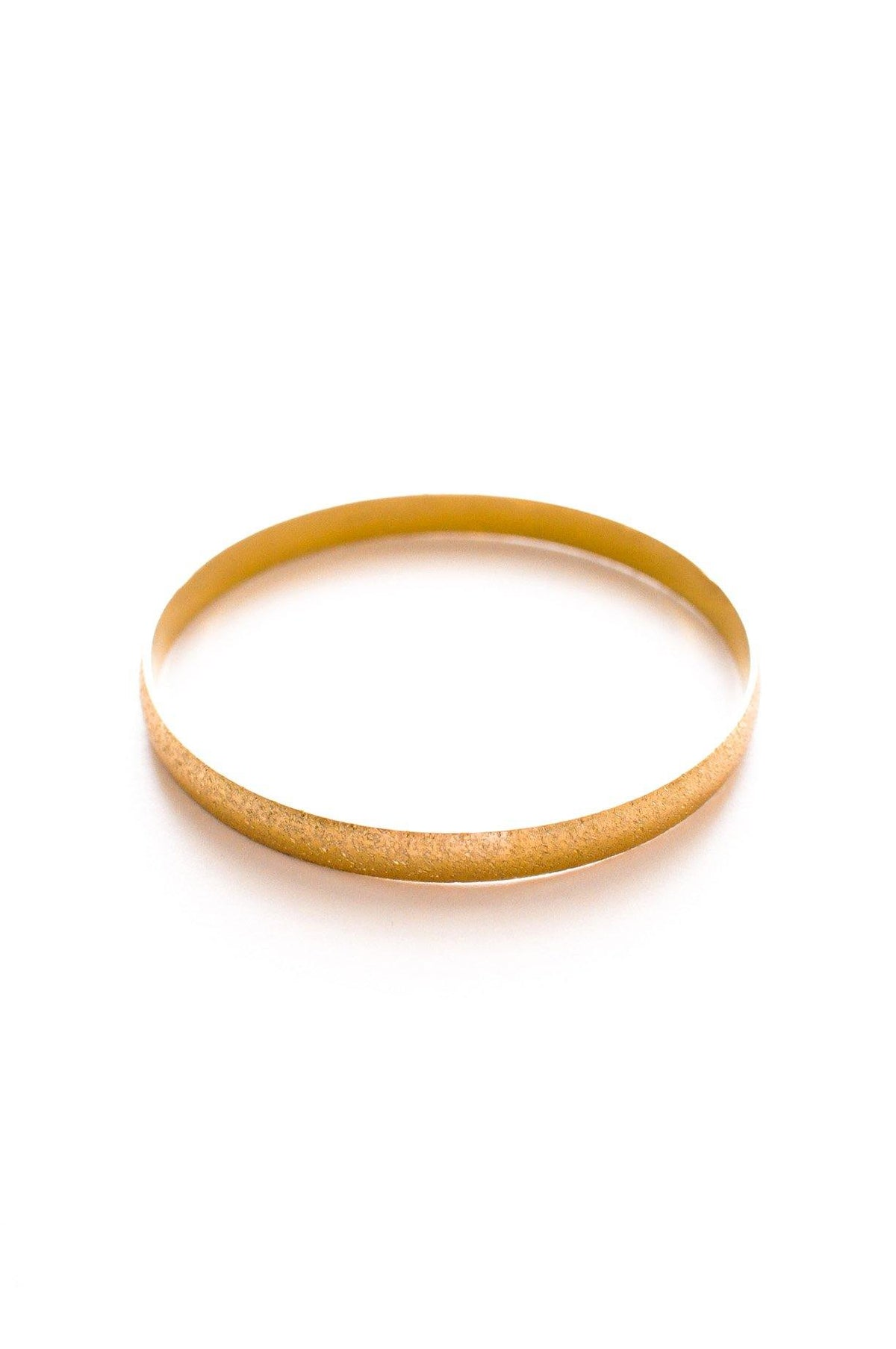 Vintage Napier etched gold classic bangle from Sweet & Spark.