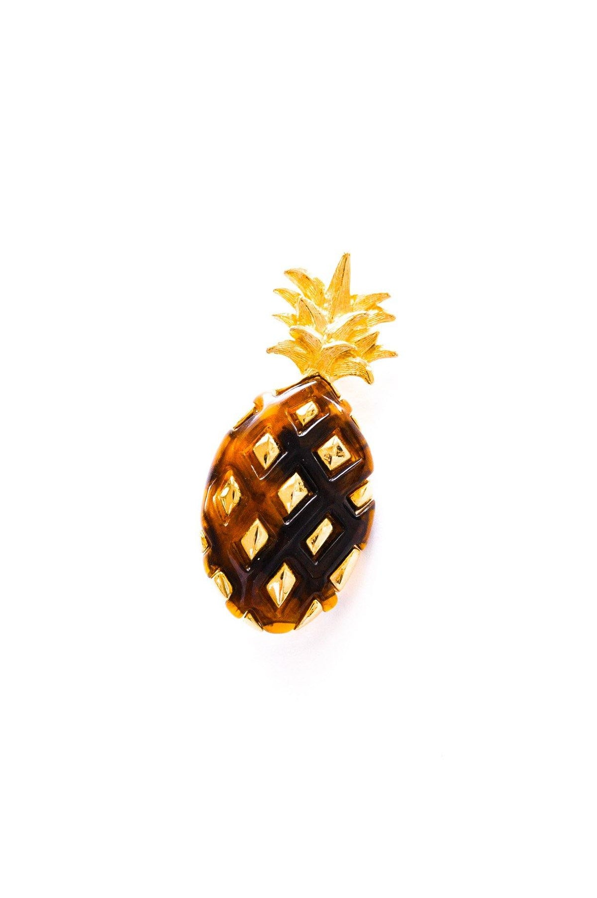 Vintage Liz Claiborne Pineapple Brooch from Sweet & Spark.