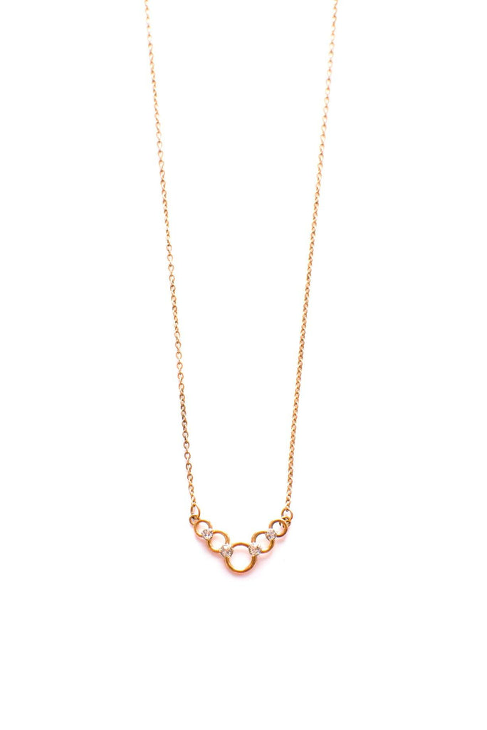 Dainty Circles Necklace