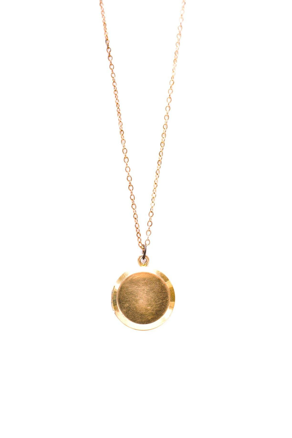 Classic Locket Necklace