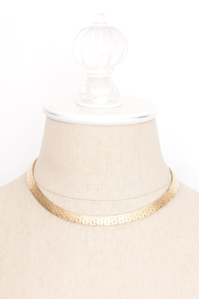 70's__Napier__Bold Collar Necklace