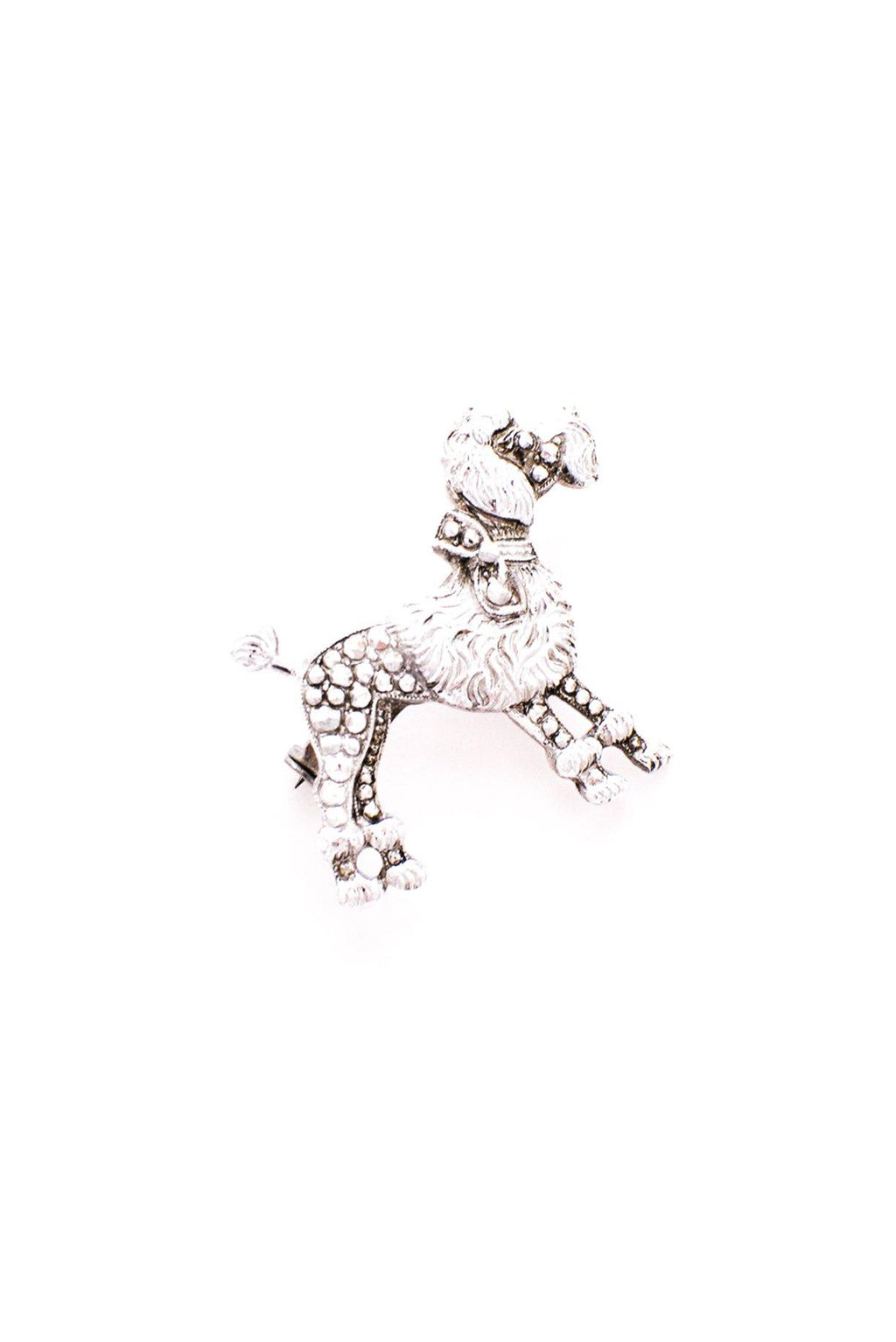 Mini Poodle Brooch