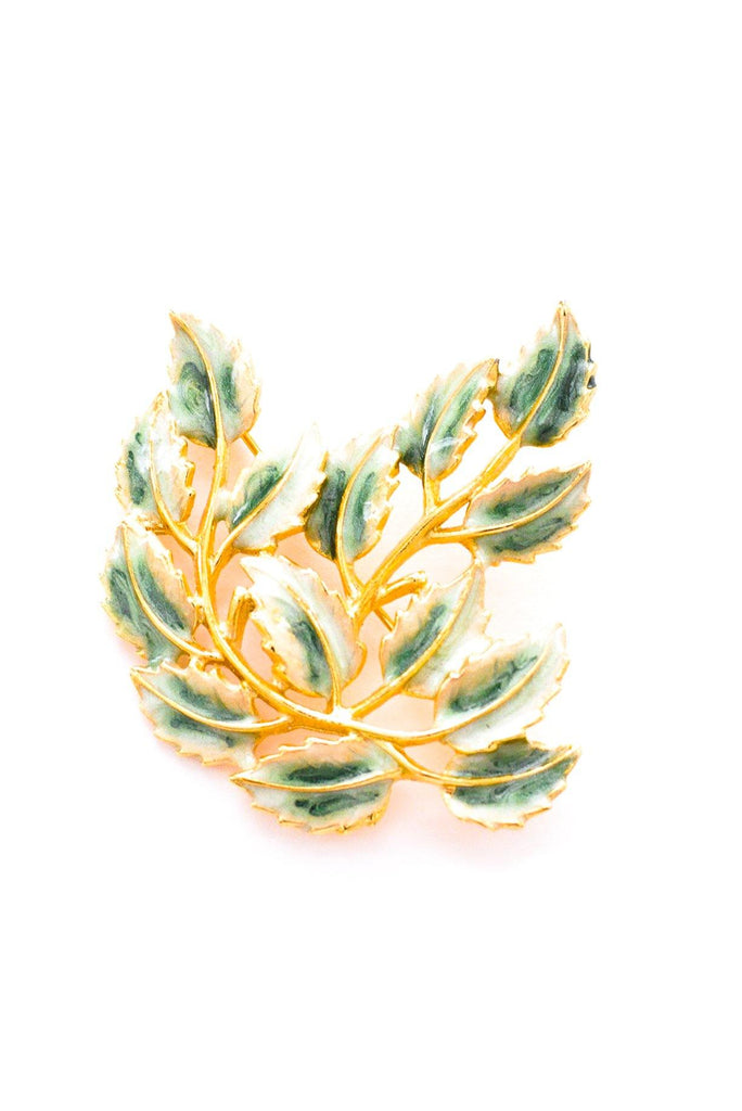 Leaves Brooch