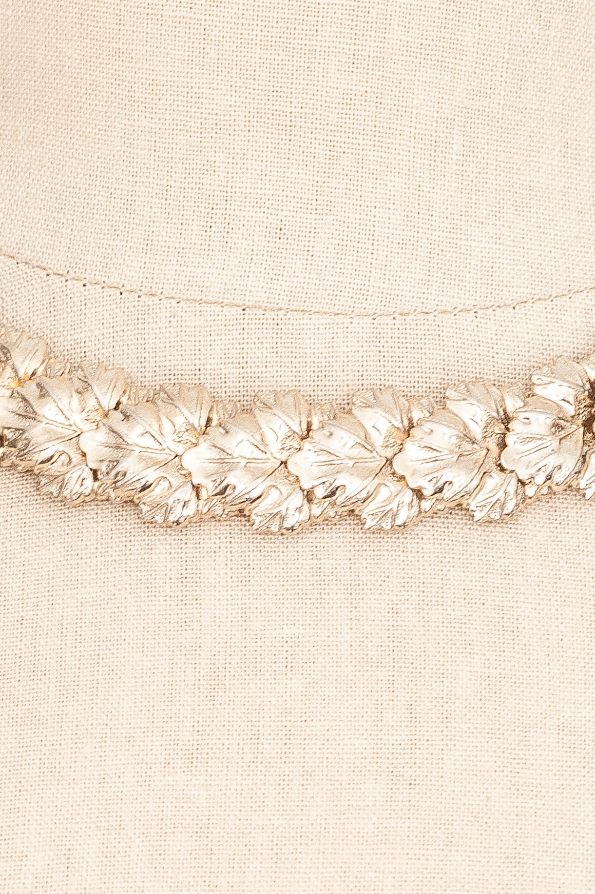 50's__Vintage__Leaf Statement Necklace