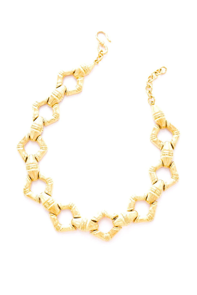 Bamboo Statement Necklace