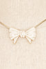 60's__Monet__Bauble Bow Necklace