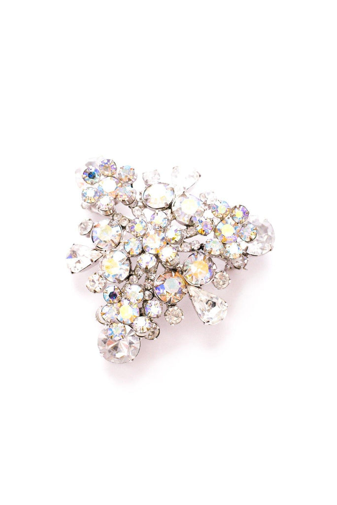Rhinestone Statement Brooch
