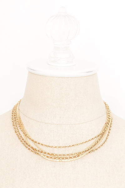 70's__Monet__Layering Chain Necklace