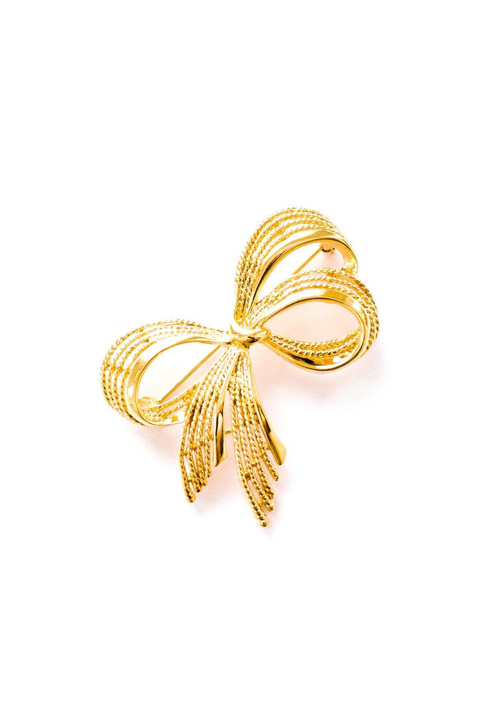 Statement Bow Brooch