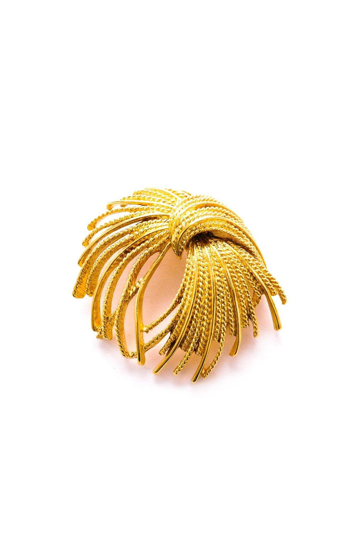 Vintage Monet Gold Spray Brooch from Sweet & Spark