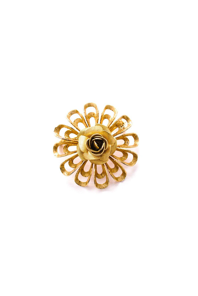 Rose Burst Brooch