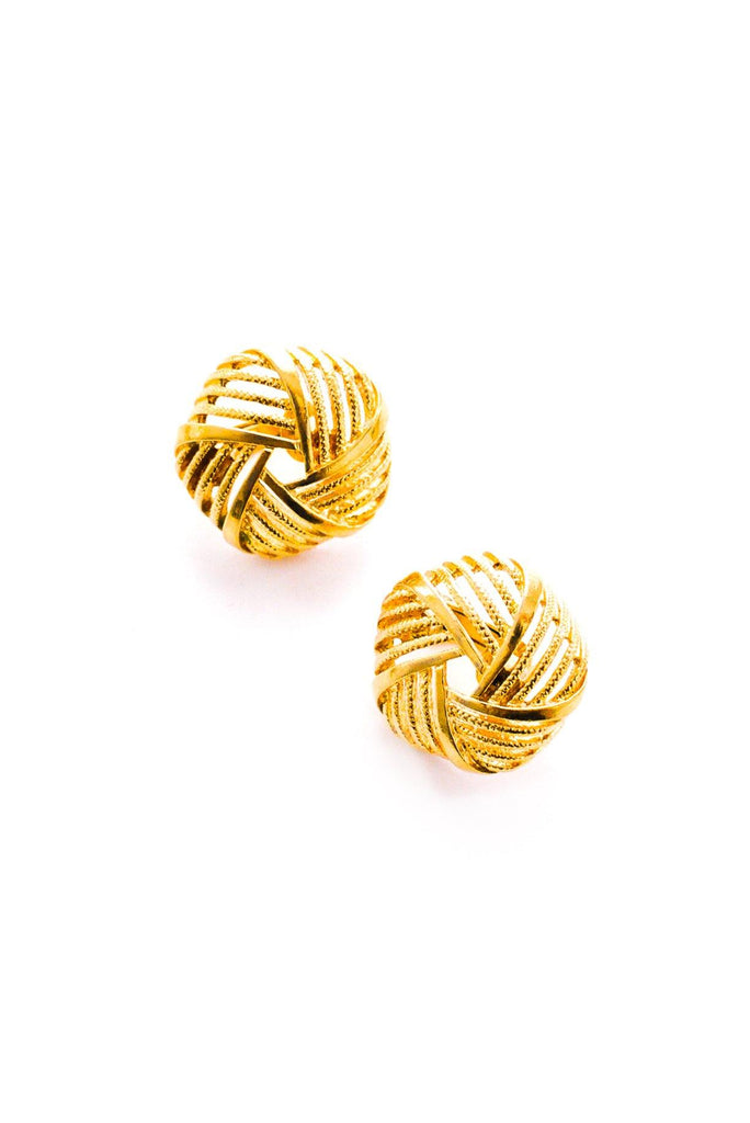 Twist Clip-On Earrings