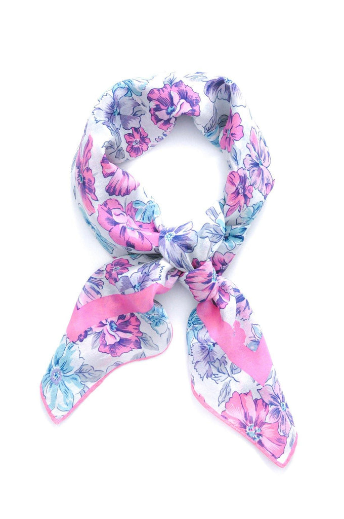 Floral Square Scarf
