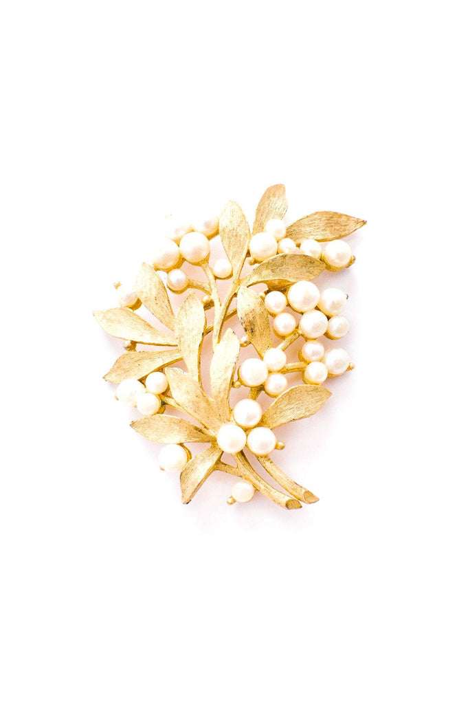 Pearl Branches Brooch