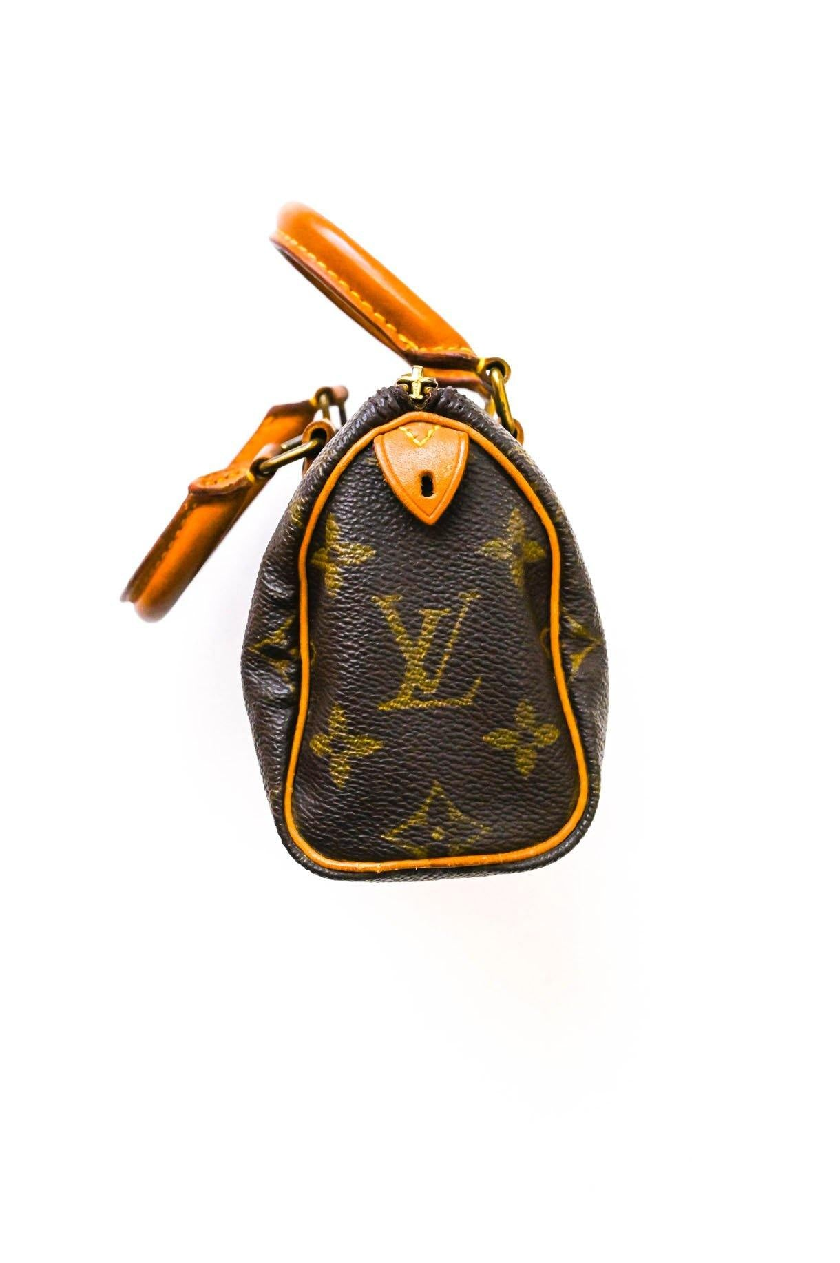 Louis Vuitton Nano Speedy Handbag