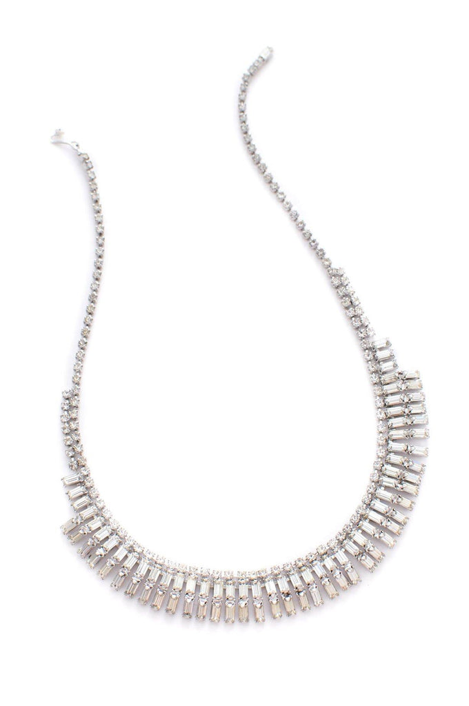 Deco Rhinestone Necklace