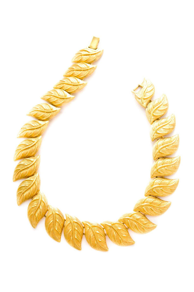 Chunky Leaf Necklace