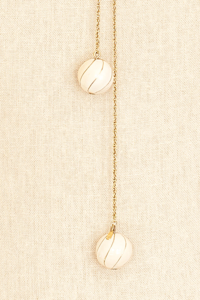 60's__Monet__Dainty Lariat Necklace