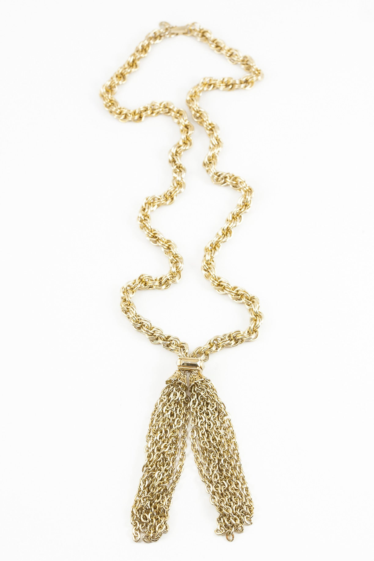 70's__Park Lane__Classic Chunky Tassel Necklace