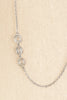 50's__Vintage__Extra Long Silver Necklace