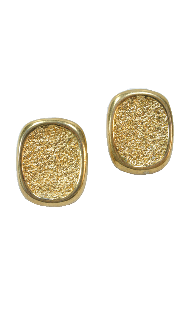80's__Vintage__Hammered Statement Earrings
