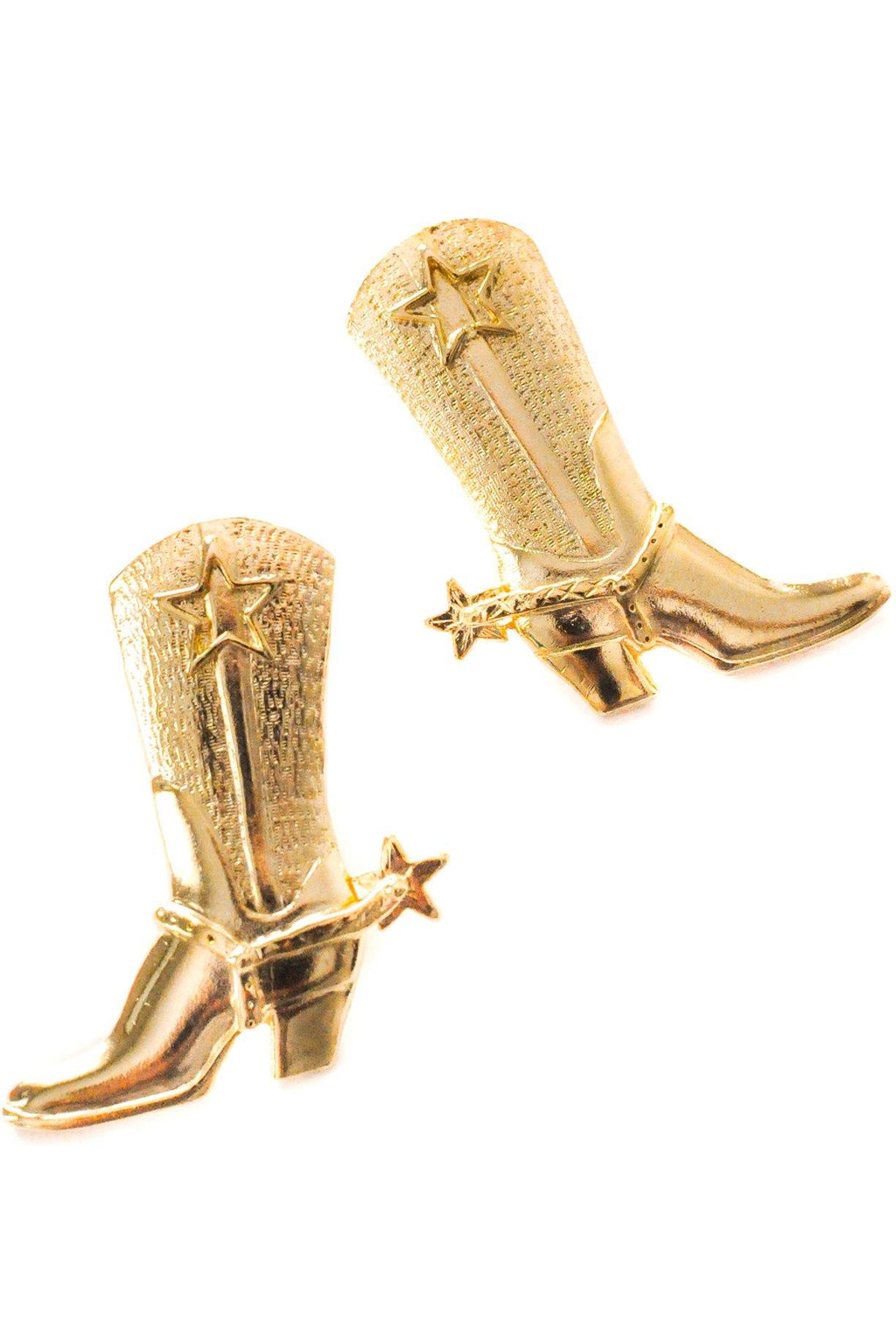 Cowboy Boots Clip-on Earrings