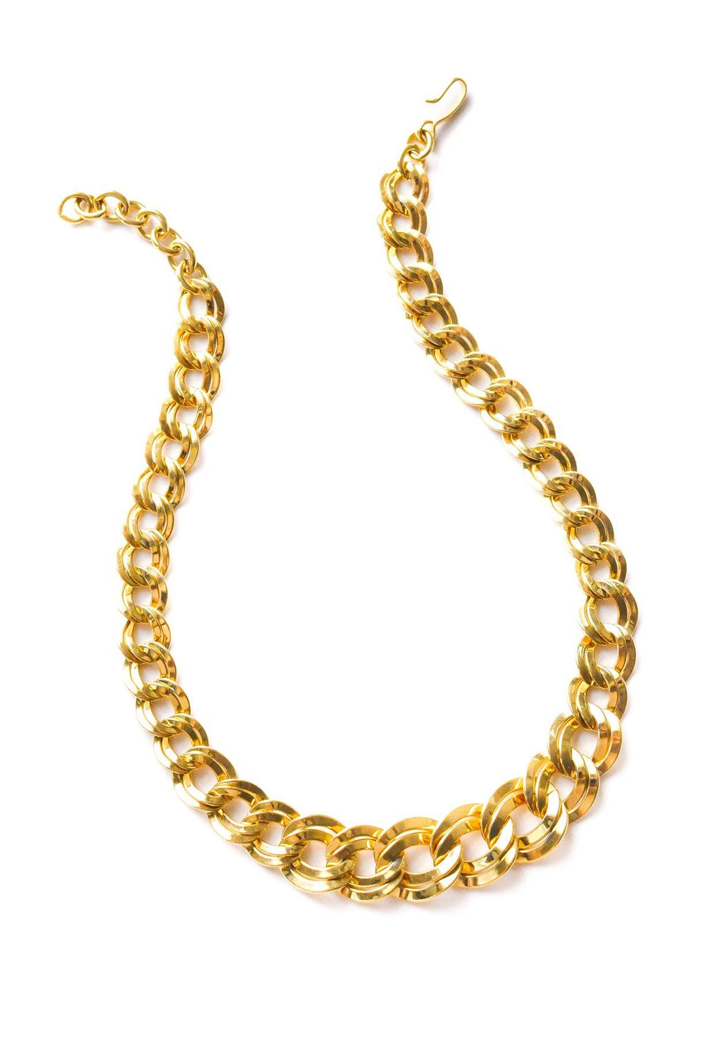 Classic Double Link Necklace