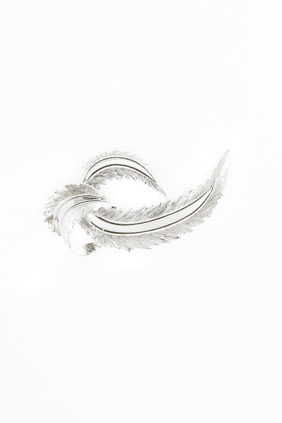 70's__Sarah Coventry__Feather Brooch