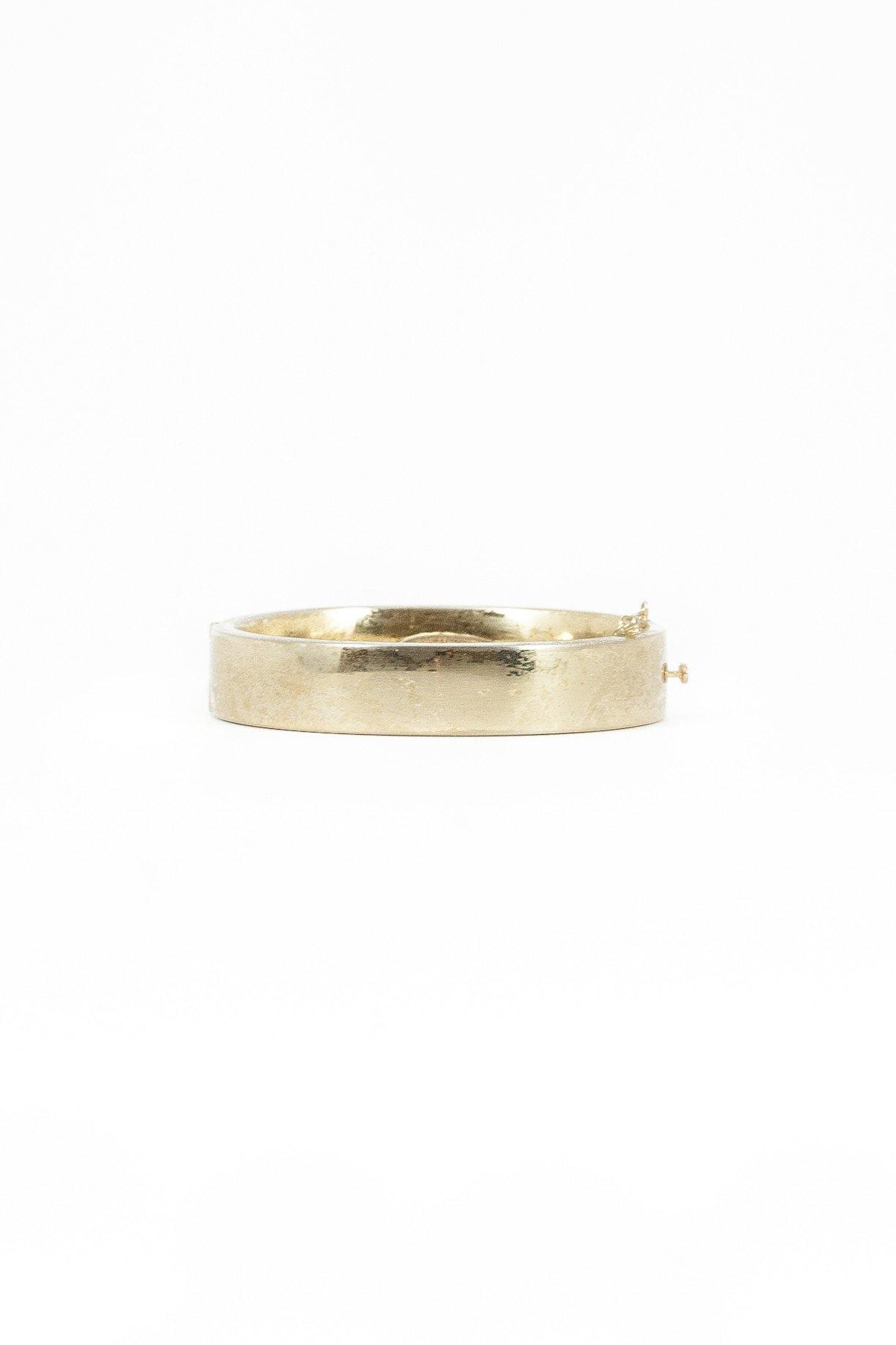 40's__Whiting Davis__Clean Classic Bangle