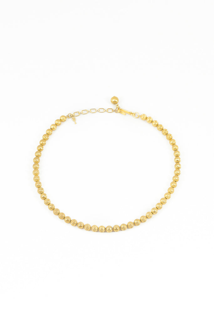60's__Trifari__Classic Dainty Ball Necklace