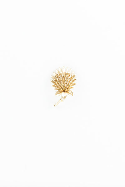 60's__Trifari__Flower Burst Pin