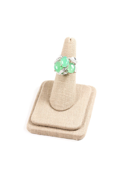 60's__Vintage__Mint Cocktail Ring