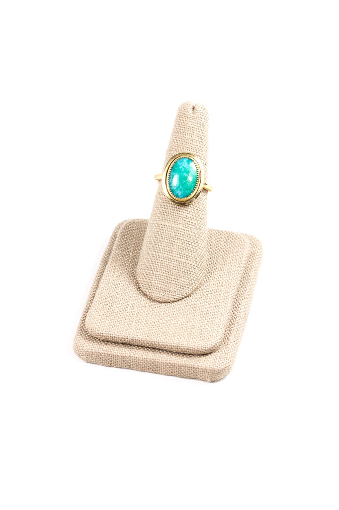 60's__Sarah Coventry__Jade Ring