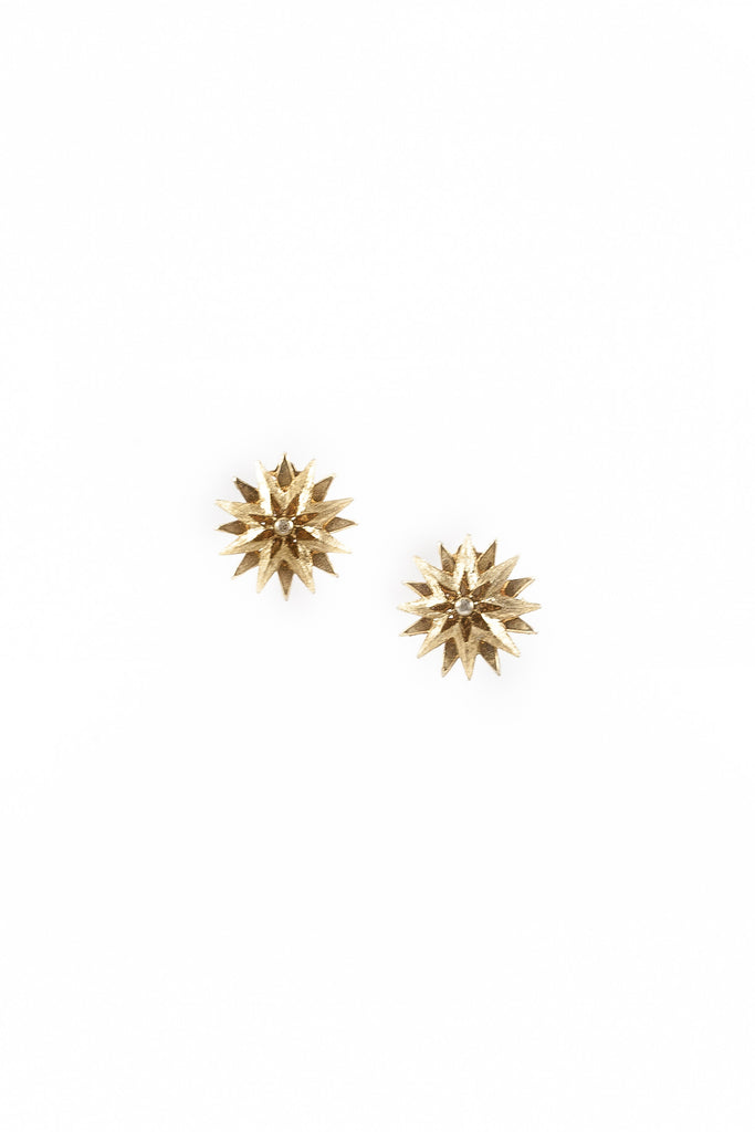 60's__Vintage__Double Star Clips