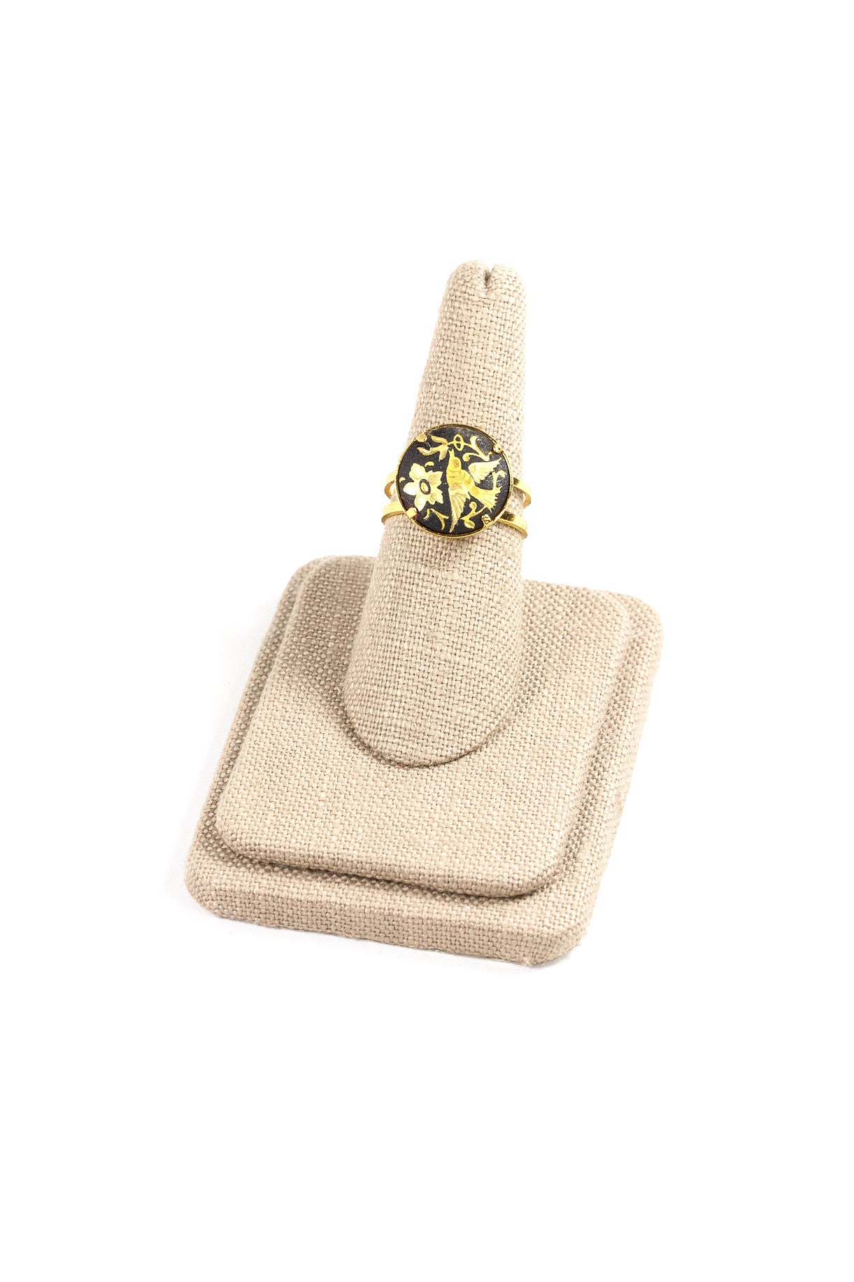 70's__Spanish__Bird Emblem Ring