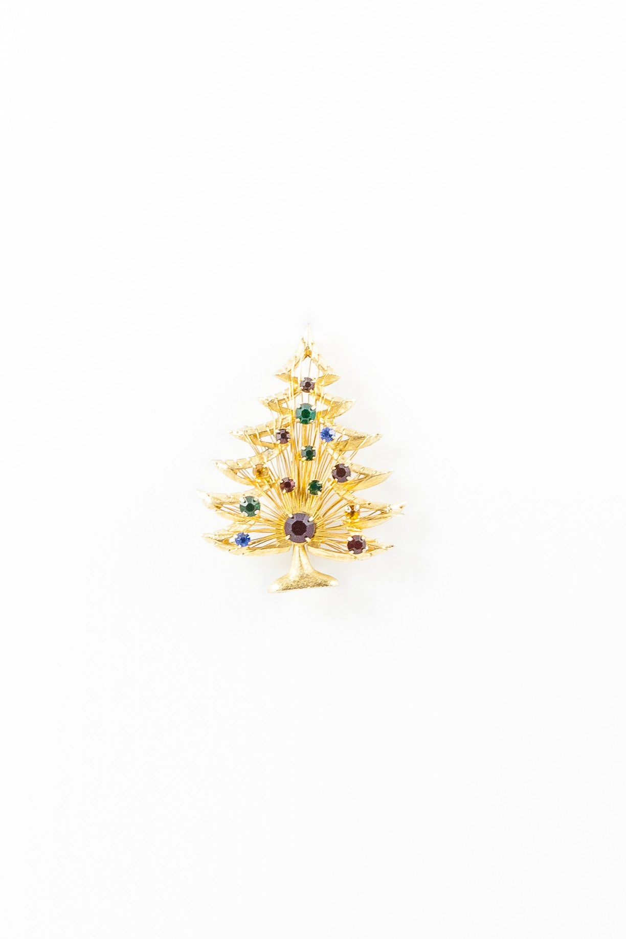 80's__Vintage__Holiday Sparkle Brooch