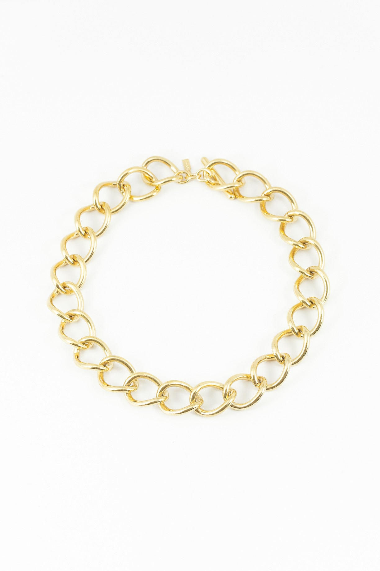 70's__Monet__Classic Chunky Chain Necklace