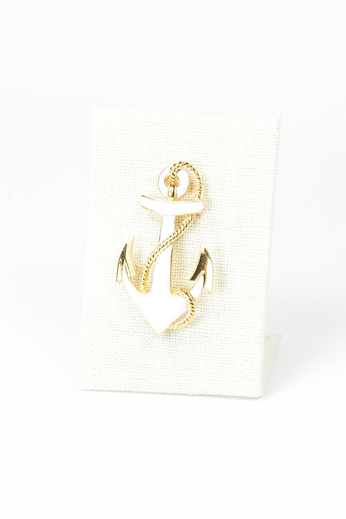 80's__Trifari__Nautical Brooch