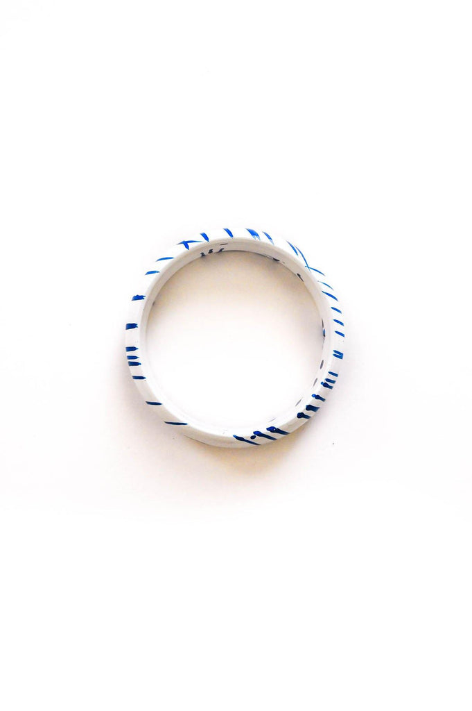 Blue Stripes Bracelet