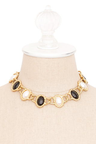 80's__Anne Klein__Statement Necklace