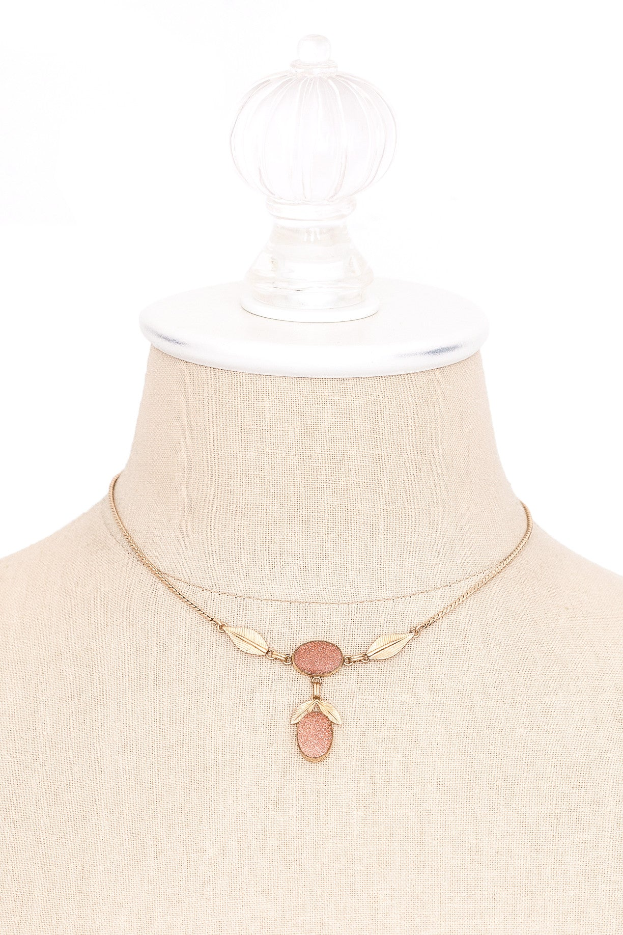 60's__Vintage__Dainty Drop Necklace