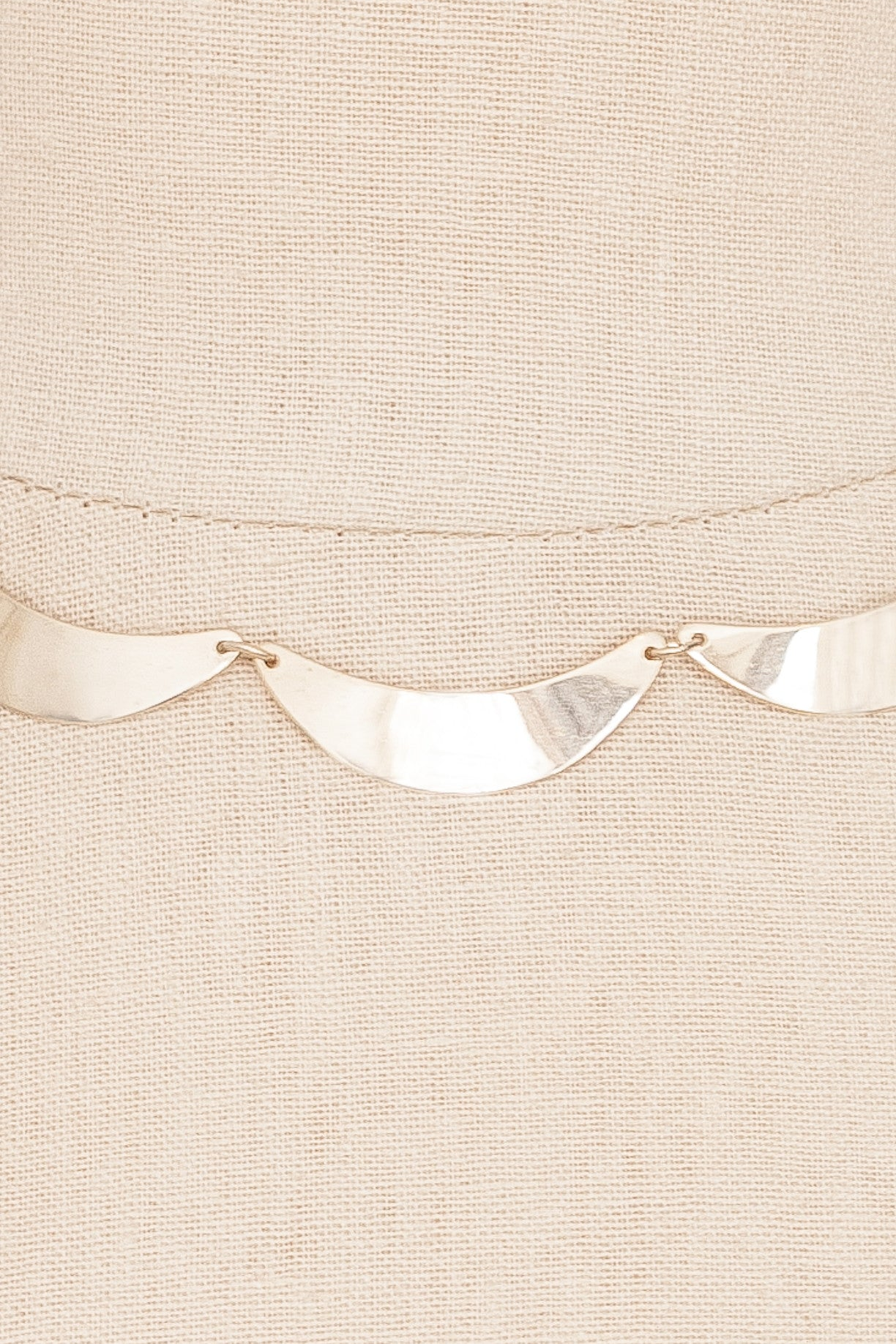 70's__Emmons__Bar Necklace