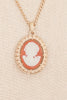 70's__Vintage__Cameo Necklace