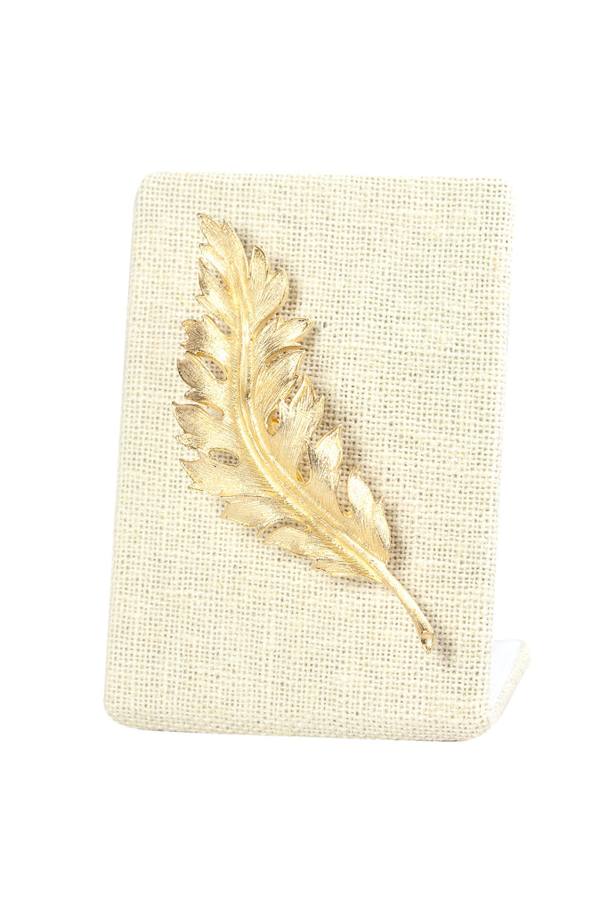 60's__Coro__Feather Brooch